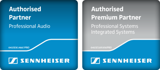Sennheiser Authorised Partner Professional Audio & Authorised Premium Partner Professionell Systems