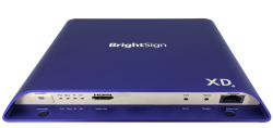 BrightSign XD1034 - Erweiteter Digital Signage Player - (2xVideo) - 4K Dolby Vision - HDR10+ - Interaktiv