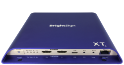 BrightSign XT1144 Erweiterter Digital Signage Player - (2xVideo) 4K Dolby Vision - HDR10+ - Interaktiv