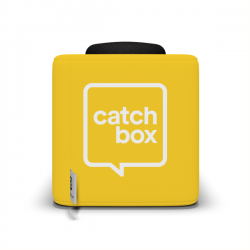 Catchbox Cover - Wechselhülle für Catchbox Pro, Catchbox Plus, Catchbox Lite - Gelb