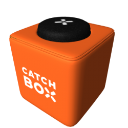 Catchbox Cover - Wechselhülle für Catchbox Pro, Catchbox Plus, Catchbox Lite - Orange