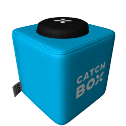 Catchbox Cover - Wechselhülle für Ihre Catchbox Pro, Catchbox Plus, Catchbox Lite - Blau