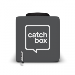 Catchbox Cover - Wechselhülle für Ihre Catchbox Pro, Catchbox Plus, Catchbox Lite - Dunkelgrau