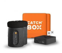 Catchbox Plus Wurfmikrofon - Orange - 2 Mikrofone - ohne Ladestation