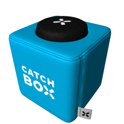Catchbox Lite - Wurfmikrofon - WiFi 2.4GHz - Blau