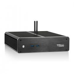 TUXEDO InfinitySilent - Mini-PC - i7-7700T - 8GB - 250 GB SSD - Windows 10 Pro - WLAN, BT, USB-C