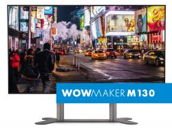 WOWMAKER M130 - LED Wall Bundle - 130 Zoll - 1.5mm PP IF015H - inkl. Rollcase und elektr. Lift