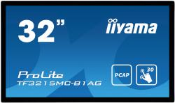 iiyama ProLite TF3215MC-B1AG - 32 Zoll - 425 cd/m² - 1920x1080 Pixel - FHD - 30 Punkt - Multitouch Display