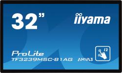 iiyama ProLite TF3239MSC-B1AG - 32 Zoll - 420 cd/m² - 1920x1080 Pixel - FHD - 12 Punkt - Multitouch Display