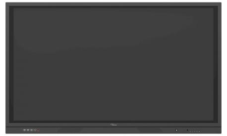 Optoma 3651RK - 65 Zoll - 370 cd/m² - UHD - 3840x2160 Pixel - Android - 20 Punkt - Touch Display