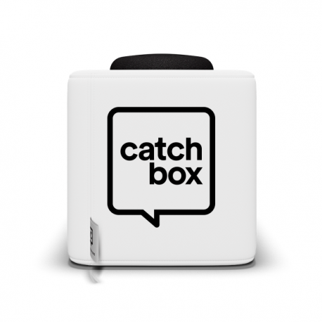 Catchbox Plus Wurfmikrofon - Weiss - 2 Mikrofone - 1 Ladestation Weiss | 2 Mikrofone | 1 Ladestation