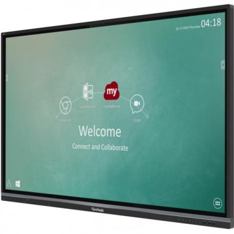 ViewSonic IFP7550-2EP  - 75 Zoll - 350 cd/m² - 3840x2160 - 20 Punkt - Touch Display