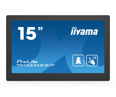 iiyama ProLite TW1523AS-B1P - 15,6 Zoll - Touch - 385cd/m² - 1920x1080 Pixel - 24/7 - WiFi
